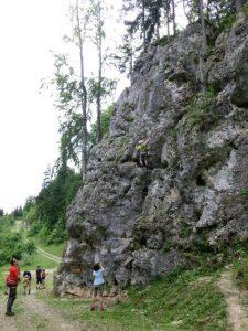 Klettern am Schluchtenweg